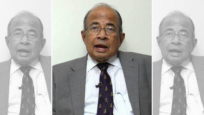 File photo of former Central Vigilance Commissioner N Vittal | Youtube screengrab