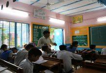 A teacher in a Delhi school | Manisha Mondal/ThePrint.in
