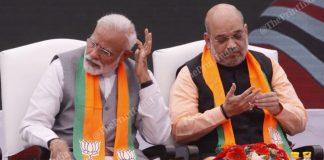 PM Narendra Modi and BJP president Amit Shah