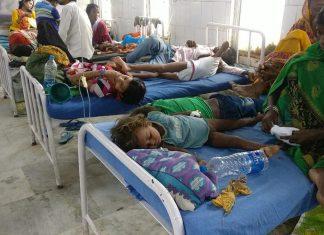 Children dying in Bihar because of Encephalitis