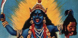 Kali chromolithograph by Raja Ravi Varma | Commons