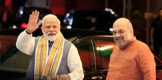 File image of Prime Minister Narendra Modi and BJP president Amit Shah