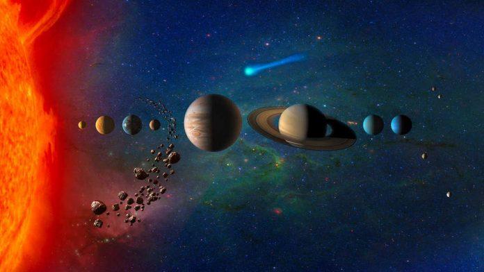 Artist concept of the solar system. | Photo: NASA
