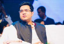 Trinamool Congress MP Abhishek Banerjee, nephew of Bengal CM Mamata Banerjee   Photo: @abhishekaitc   Twitter