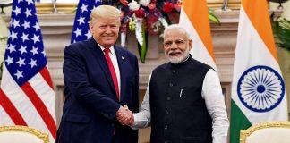 File image of US President Donald Trump and PM Narendra Modi | Photo: ANI