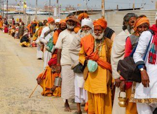 A file photo Hindu seers at Kumbh Mela 2019 in Prayagraj, Uttar Pradesh. | Representation image | Photo: Flickr