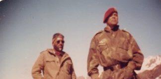 Major General J.M. 'Jimmy' Singh (left) with Lieutenant General N.S. Narahari   Photo: Special arrangement/Lt Gen J.M. Singh (Retd)