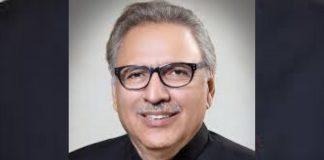 File photo of Pakistan President Arif Alvi | Commons