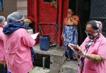 ASHA workers on door-to-door screening rounds in Delhi Friday | ANI