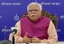 File image of Haryana Chief Minister Manohar Lal Khattar | Photo: ANI