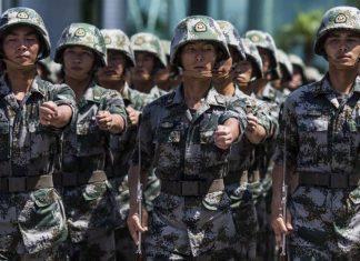 Representational image of China's People's Liberation Army | Photo: Justin Chin | Bloomberg