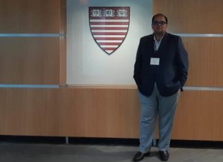 A file photo of IAS officer Ankur Garg at Harvard University in the US. | Photo: Facebook