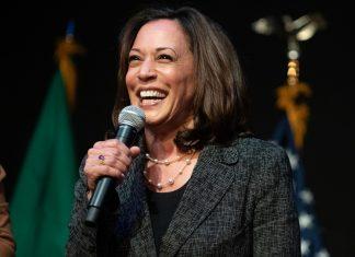 Kamala Harris, Democrat candidate for Vice President of US | Photographer: Chona Kasinger | Bloomberg