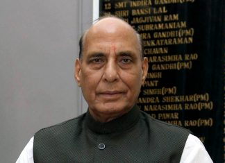 The negative import list for defence systems was unveiled by Rajnath Singh Sunday | File photo: ANI