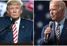 US President Donald Trump and former vice president Joe Biden | Flickr & Wiki Commons