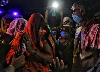 Relatives and family members requested the police to at least take the body for few hours to the house, however, they refused | Photo: Manisha Mondal | ThePrint