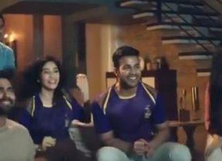 A screenshot from the IPL anthem   Twitter   @IPL