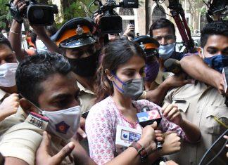 Actor Rhea Chakraborty outside Narcotics Control Bureau in Mumbai | By special arrangement | ThePrint