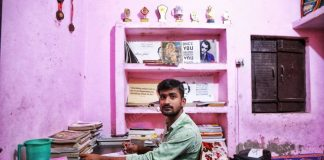 Engineering aspirant Vineet Shukla in his room in Ghaziabad on the day of his JEE (Mains) exam, 5 September | Photo: Manisha Mondal | ThePrint