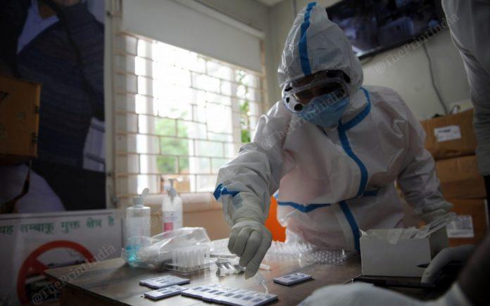 Testing at a Mohalla clinic in New Delhi (representational image) | Photo: Suraj Singh Bisht | ThePrint