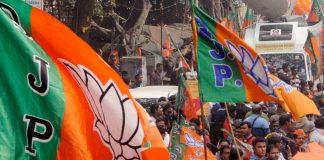 Representational image of BJP flags | Photo: ANI