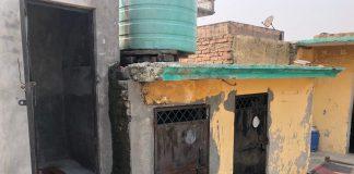 The toilet (extreme left) where Ramrati was kept locked up by her husband Naresh in Rishpur village, Panipat   Photo: Jyoti Yadav   ThePrint