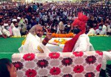 Congress leader Sachin Pilot (R) campaigns for the party at Karera, Madhya Pradesh, Tuesday   Twitter   @SachinPilot