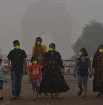 File image of smog in Delhi | Suraj Singh Bisht | ThePrint