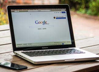Google search engine displayed on a laptop (representational image) | Pexels