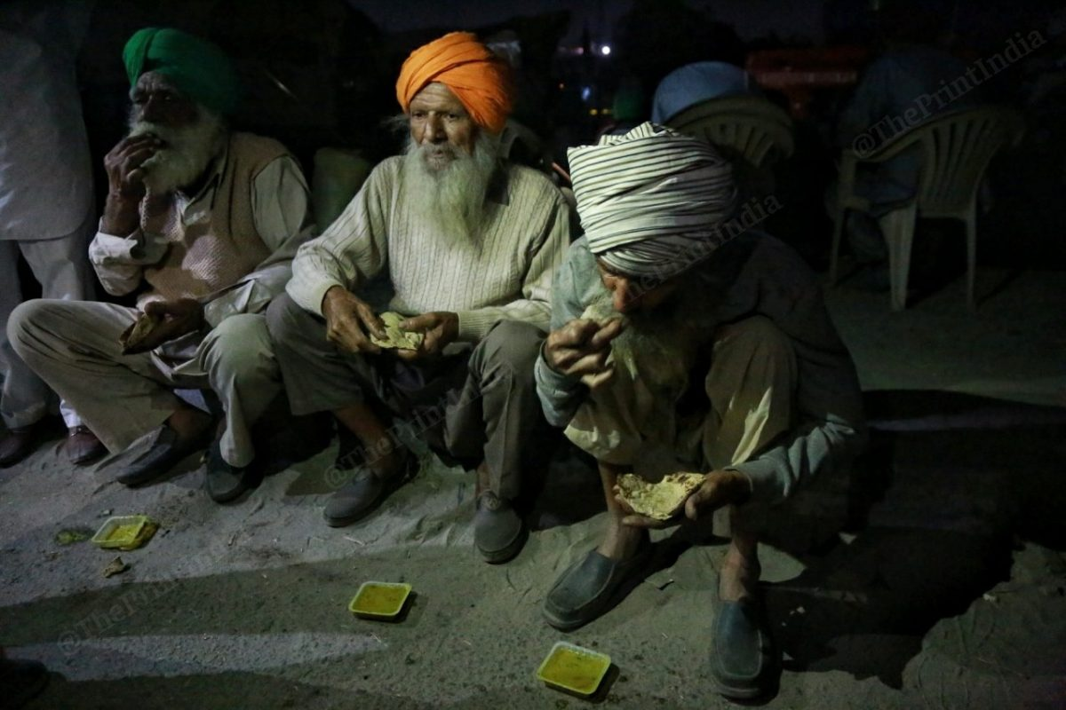 Dinner is served | Photo: Manisha Mondal | ThePrint