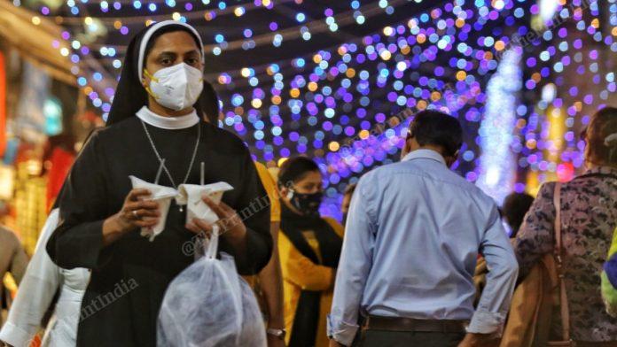 A woman at Lajpat Nagar Market | Photo: Suraj Singh Bisht | ThePrint