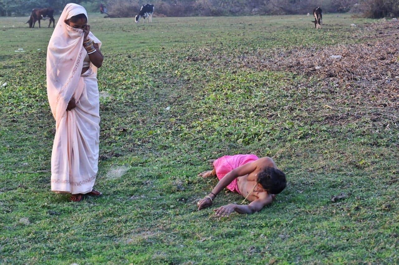 People perform difficult rituals like Danda puja | Photo: Praveen Jain | ThePrint