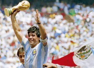 Diego Maradona led Argentina to the 1986 FIFA World Cup | Photo: Twitter | Fulham Football Club