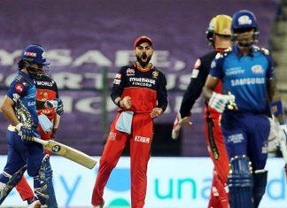 Royal Challengers Bangalore captain Virat Kohli celebrates a Mumbai Indians dismissal in a league match of the Indian Premier League | Representational image: BCCI/IPL/ANI