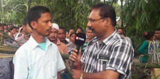 Parag Bhuyan (right) was a senior journalist with Assam's Pratidin Time group | Photo: Facebook | Parag Bhuyan