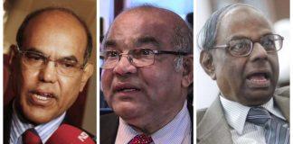 From Left-Right: File photo of Former RBI Governors Duvvuri Subbarao, Yaga Venugopal Reddy, and Chakravarthy Rangarajan