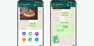 Representational image of WhatsApp's payment feature | WhatsApp