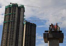 Representational image of construction work for the Mumbai Metro | File photo: ANI