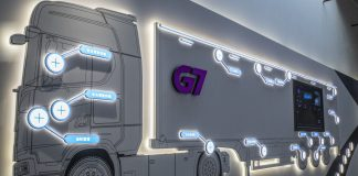 G7's artificial intelligence technology on a truck at its Beijing headquarters | Photographer: Gilles Sabrie | Bloomberg