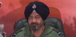 former IAF chief Air Chief Marshal B.S. Dhanoa