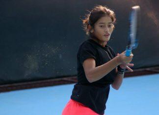 Nagaland tennis player Lenien Jamir