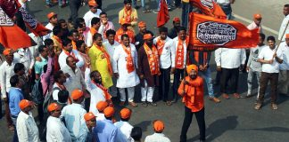 Maharashtra Navnirman Sena (MNS) workers during a rally in Mumbai in February 2020 | ANI File Photo