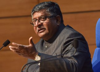 Ravi Shankar Prasad during a press briefing on Cabinet decisions in New Delhi on 16 December | PTI Photo