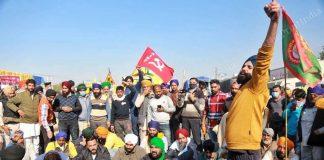 File image of farmers protesting at the Singhu Border between Delhi and Haryana   Photo: Manisha Mondal   ThePrint