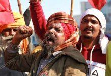 Representational image of the farmer protests at the Singhu Border between Delhi and Haryana   Photo: Manisha Mondal   ThePrint