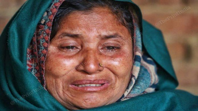 Sonu alias Saquib's mother Sanjeeda claims he has been framed because of his religion | Praveen Jain | ThePrint