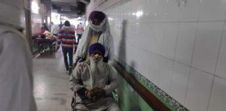 Niranjan Singh at Civil Hospital, Sonipat | By special arrangement