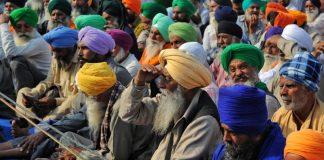 Farmers protest against the farm bills at Singhu Border, New Delhi | Photo: Suraj Singh Bisht | ThePrint
