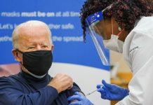 US President-elect Joe Biden receives the Covid vaccine shot | @JoeBiden | Twitter