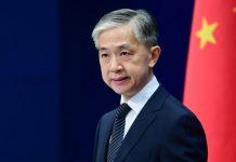 Chinese Foreign Ministry Spokesperson Wang Wenbin | Wang Wenbin | Facebook